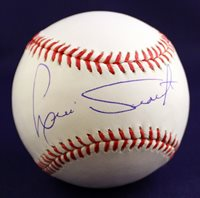Boston Red Sox Luis Tiant Signed Authentic MLB Baseball COA