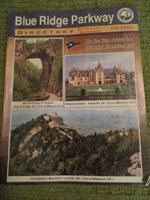 Vintage 2006 BLUE RIDGE PARKWAY DIRECTORY 64 pgs 57th Edition 300