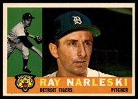 1960 Topps #161 Ray Narleski NM ID: 874521960 Topps #161 Ray Narleski NM ID: 87452