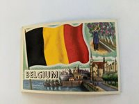 1956 TOPPS FLAGS OF THE WORLD BELGIUM #75