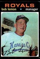 1971 Topps #91 Bob Lemon MG Excellent+ 1971 Topps #91 Bob Lemon MG Excellent+