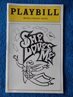 She Loves Me - Brooks Atkinson Theatre Playbill - March 1994 - Boyd Gaines