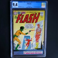 THE FLASH #119 (DC 1961)  CGC 9.4 WHITE PGs  ONLY 1 HIGHER! Elongated Man