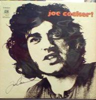 Joe Cocker Self Titled Album Signed