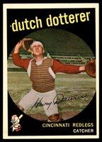 1959 Topps #288 Dutch Dotterer Ex-Mint ID: 2304971959 Topps #288 Dutch Dotterer Ex-Mint ID: 230497