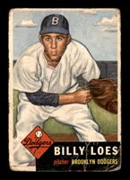 1953 Topps #174 Billy Loes F X2140472