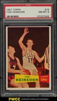 1957 Topps Basketball Tom Heinsohn SP ROOKIE RC #19 PSA 8 NM-MT (PWCC)