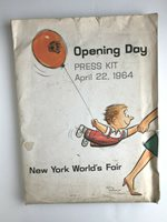 1964 NEW YORK WORLD'S FAIR PRESS KIT with photo & extras - See full