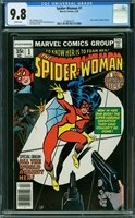 SPIDER-WOMAN #1, CGC 9.8 NM/MT - The Auction Has Ended