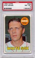 1969 Topps Dan Osinski #622 PSA 8