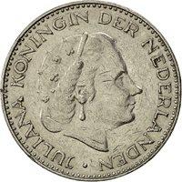 Netherlands, Juliana, Gulden, 1967, VF(30-35), Nickel, KM:184a