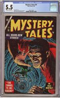 MYSTERY TALES #26 1955, Atlas; Russ Heath cover