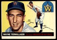 1955 Topps #34 Wayne Terwilliger VG Very Good