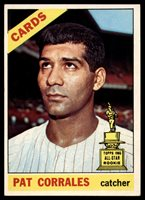 1966 Topps #137 Pat Corrales EX++ Excellent++ ID: 1174221966 Topps #137 Pat Corrales EX++ Excellent++ ID: 117422