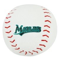 Florida Marlins Licensed Embroidered Plush Team Ball
