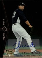 2007 Upper Deck SP Rookie Edition Autographs #148 Chase Wright 95 Auto