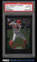 2011 Bowman Chrome Draft Mike Trout ROOKIE RC #101 PSA 10 GEM MINT (PWCC)