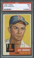 1953 Topps 63 Gus Niarhos PSA 5 (6632)