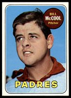 1969 Topps #129 Bill McCool NM Near Mint 1969 Topps #129 Bill McCool NM Near Mint