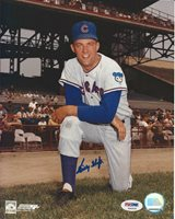 Billy Hoeft Cubs Signed Auto 8x10 Photo PSA/DNA Certified Autograph