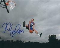 Autographed K.J. MCDANIELS Philadelphia 76ers 8x10 photo w/COA