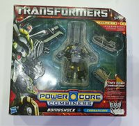 TRANSFORMERS Power Core Combiners BOMBSHOCK Unopened see condition
