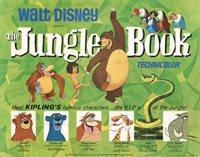 The Jungle Book 1967 U.S. Title Card