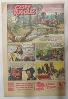 Casey Ruggles Sunday #19 by Warren Tufts from 9/25/1949 Half Page Size ! Year #1