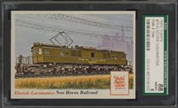 "1955 Rails & Sails #70 Electric Locomotive SGC 88 NM/MT 8 """"1955 Rails & Sails #70 Electric Locomotive SGC 88 NM/MT 8 """""
