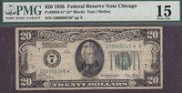 Fr.-2050* 1928 $20 Chicago Ser. G00086249* PMG-15