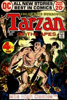 TARZAN (1972 Series) (DC) #210 Very Good Comics Book