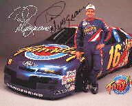 Ted Musgrave - Item # 1173 Color S/P NASCAR