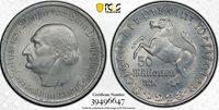 GERMANY - WESTPHALIA , 50,000,000 MARK 1923 PCGS MS 64 ( ST2 ) , RARE