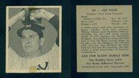 (61193) 1948 Bowman 29 Joe Page RC SP Yankees-Tape-EM
