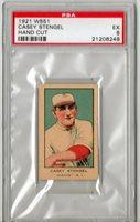 1921 W551 Casey Stengel Hand Cut PSA 5 P605