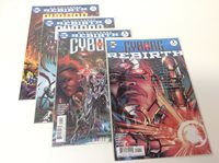 CYBORG#1-3 & REBIRTH SPECIAL (DC/2016/VIC STONE/PELLETIER/0118151) FULL SET OF 4