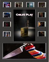 Child's Play (2019) replica Film Cell Presentation 10x8 Mounted 10 cells