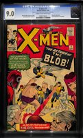 1965 X-MEN 7 CGC 9.0 - 2nd APP BLOB! KIRBY COVER! Worldwide SHIPPING PEDIGREE!