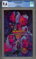 MARVEL COMICS #1000 - CGC 9.6 - JEN BARTEL VARIANT - 2067673013