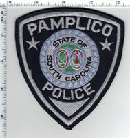 Pamplico Police (South Carolina) Shoulder Patch new from the 1980's