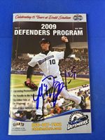 2009 Connecticut Defenders Madison Bumgarner Auto Signed Autograph Giants