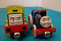 Lot of 2 Thomas and Friend Diecast Trackmater Fergus, Scruff. Diecast
