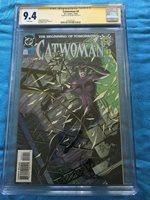 Catwoman #0 - DC - CGC SS 9.4 NM - Signed by Jim Balent - Batman