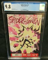 Spider-Gwen #2 (2015) Robbi Rodriguez Cover CGC 9.8 White Pages V879