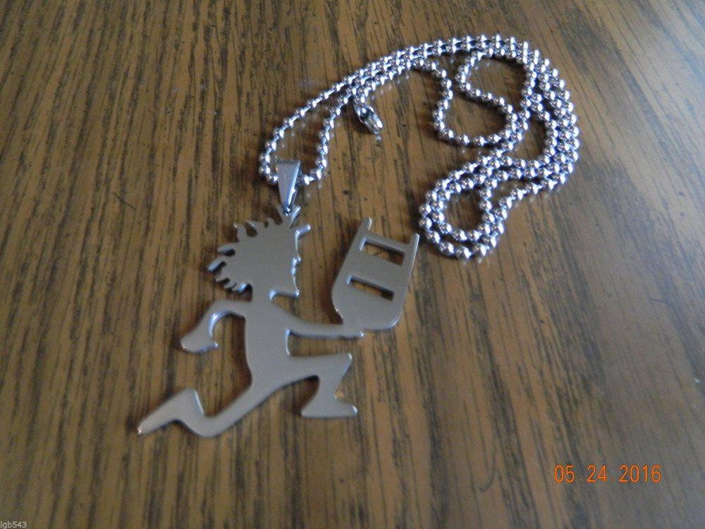 Icp hatchet man polished stainless steel jcw pendant aloadofball Gallery