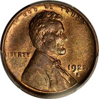 1920  LINCOLN WHEAT CENT #8