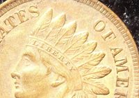 1901 Indian Head Cent, MS-65+, RB,