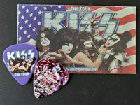 KISS 081612 Concord Gene Simmons Guitar Pick The Tour