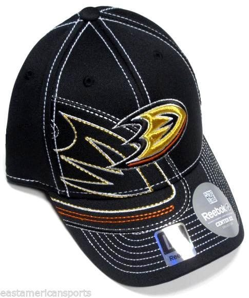 Anaheim Ducks NHL Reebok Black Orange Draft Hat Cap Sti 5993449a6e1