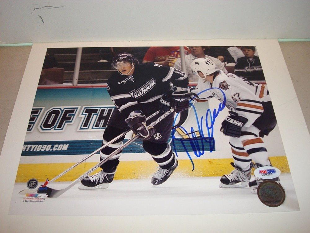 the best attitude b2db9 30d34 Teemu Selanne Autographed Signed Anaheim Ducks 8x10 Photo - PSA/DNA  Authenticutographed 1A